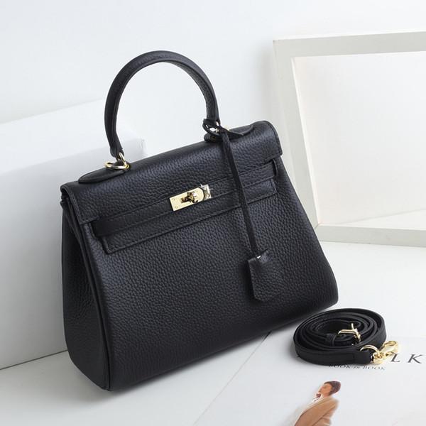 top popular Famous logo High-capacity bolsa de paja Literature Retro leather tote Simplicity Occupation Handbag Multi pochette Plain Kelly bag hand bag 2020