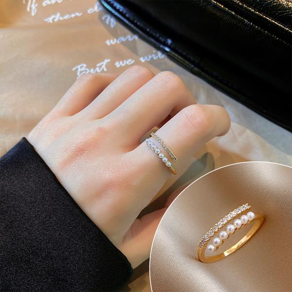 Pearl mit Diamant eingelegt # 82254