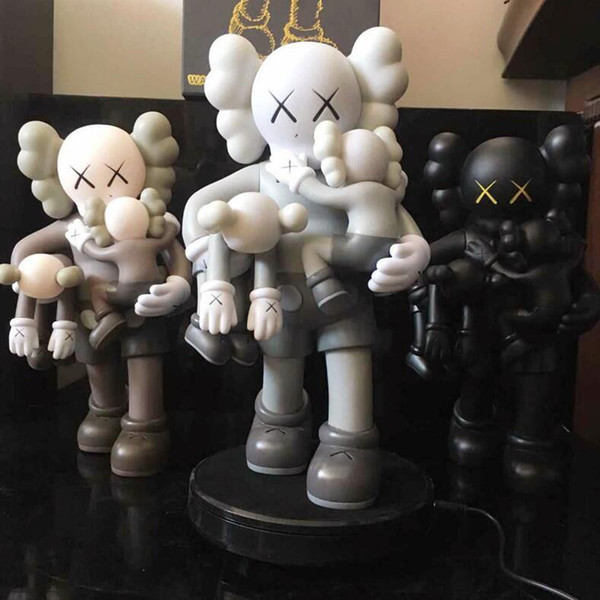 best selling Newest 38CM 1.7KG Originalfake Kaws 16inches Companion detachable and Hold the baby for Original Box Action Figure model decorations gift