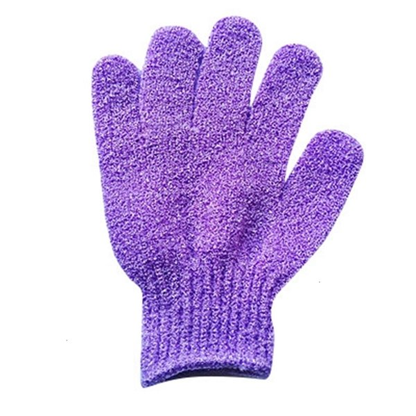 # 3 guantes de baño