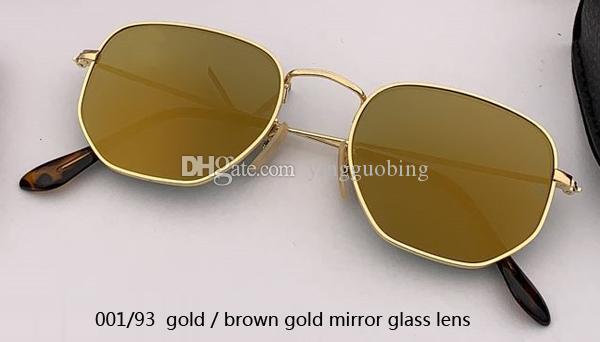 001/93 gold/dark gold mirror lens