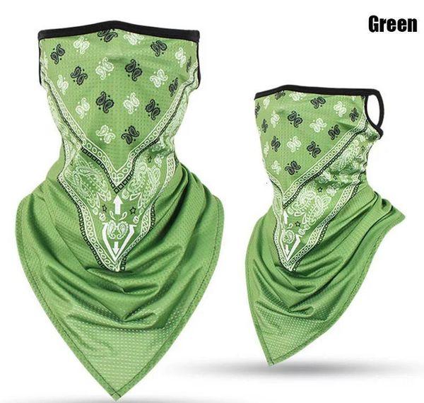 Mistura de máscara verde