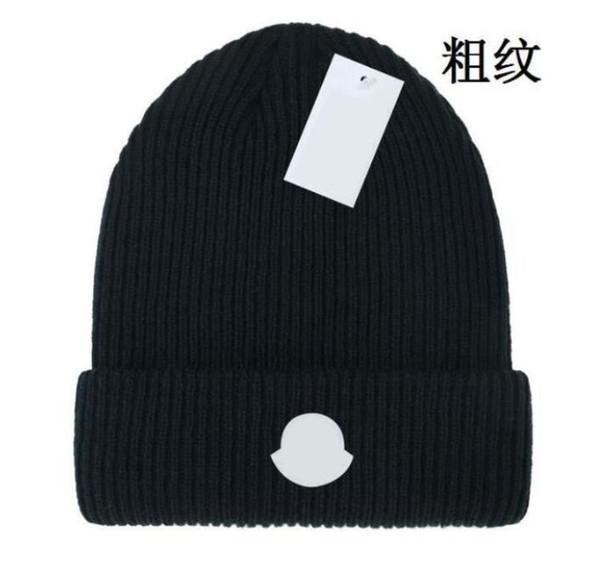 top popular 2021 Hot sale Winter beanie men women leisure knitting beanies Parka head cover cap outdoor lovers fashion winter knitted hats Parka 2021