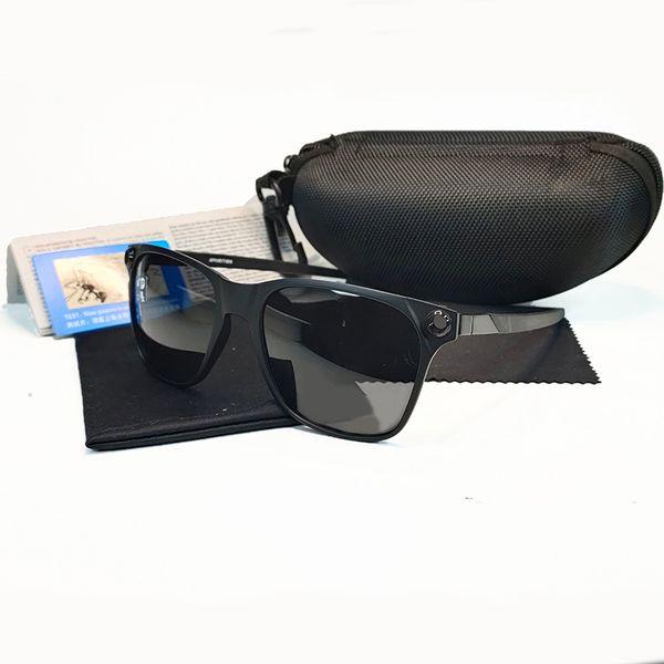 black frame grey lens