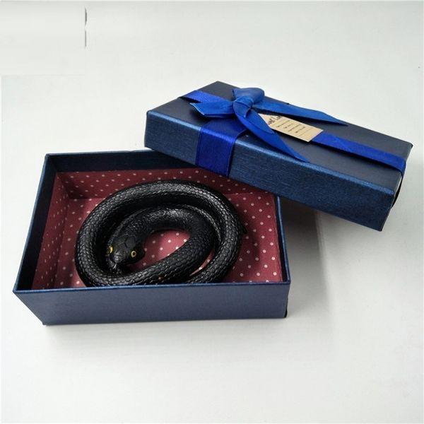 Gift Box Exquisite Little Black Snake-k4