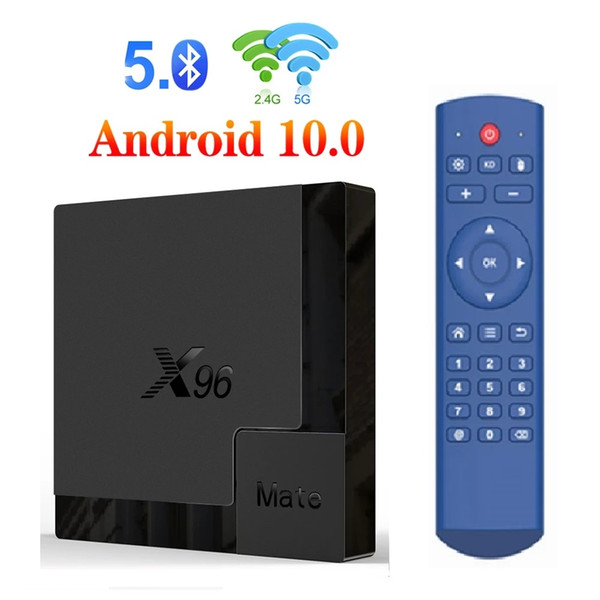 best selling X96 Mate Andriod 10.0 Player Allwinner H616 4GB+32GB Dual Wifi 2.4G+5G BT5.0 Android TV Box Better Than X96Q Max T95