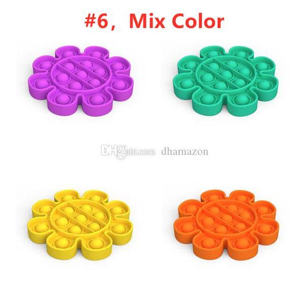# 6, mélange de couleur