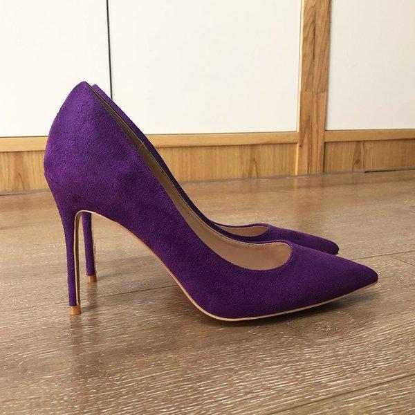 Purple 10cm Heel