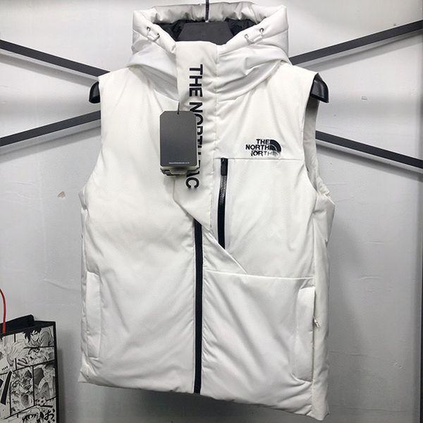 top popular 2020 Brand Designer vest Men's women winter down vest Hooded Classic feather weskit jackets womens casual vests coat M-3XL 2020