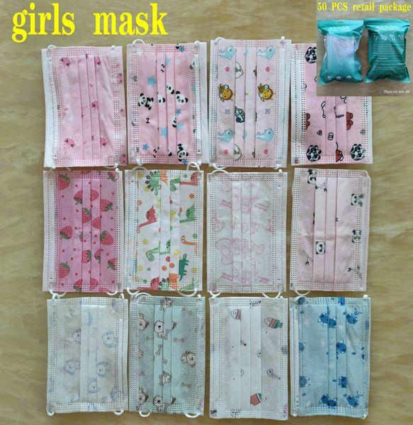Máscara de meninas