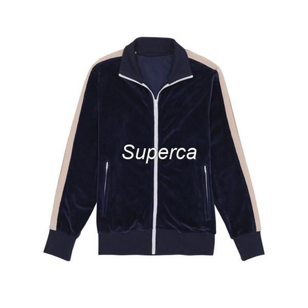 Koyu mavi jakcet