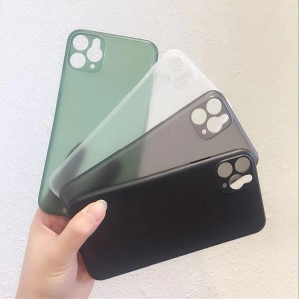 best selling 0.3mm Ultra Thin Slim Matte Frosted PP Phone Case Full Coveraged Transparent Flexible Case Cover For iphone 12 mini 11 Pro Max XS XR 8 plus