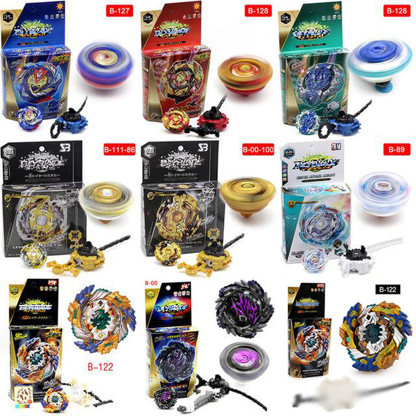 top popular TOP 4D spinning Beyblade Burst With Launcher Kids Boys Toy Starter Zeno Excalibur .M.I (Xeno Xcalibur) Bables Toys 2020