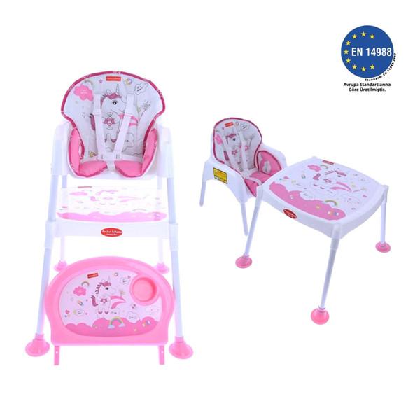 top popular Pocket & Mama Pink Uni Feeding Chair LJ201110 2021