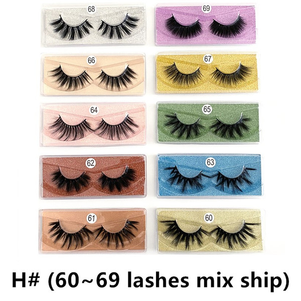 H# (60~69 lashes mixed)