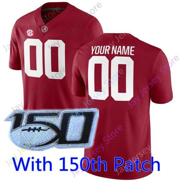 Красный 150-й патч
