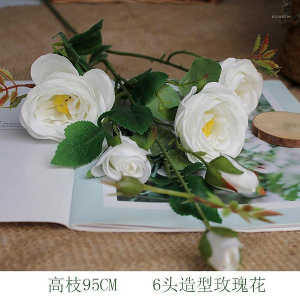 Simulating the Wedding Style of High Branches and Ground Roses Six Rose Shop Window Doors with Flower Arrangement Roses1 Artificial Plants Cheap Artificial Plants Simulating the Wedding Style of High.We offer the best wholesale price, quality guarantee, professional e-business service and fast shipping . You will be satisfied with the shopping experience in our store. Look for long term businss with you.