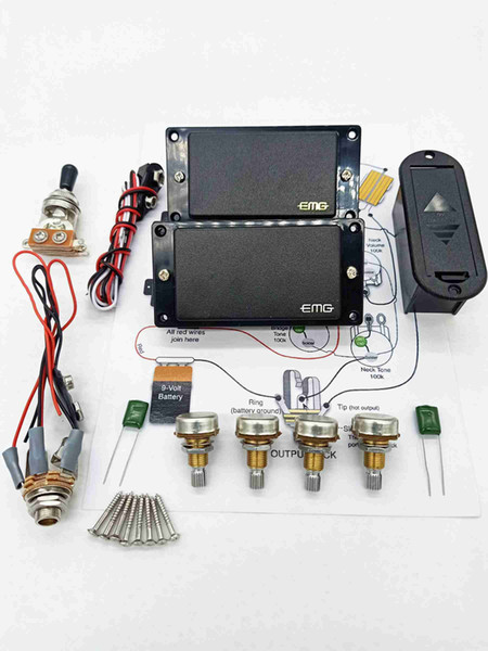 EMG 4 piece capacitance
