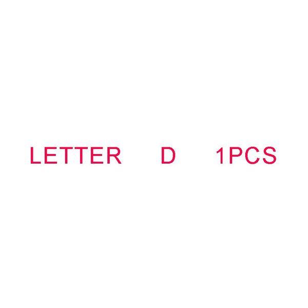 Letra D 1PCS