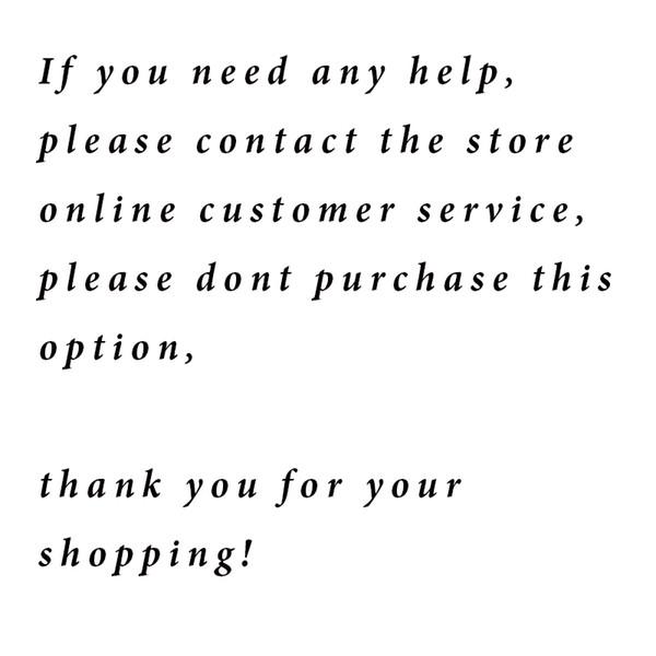 note Sie nicht kaufen diese Option