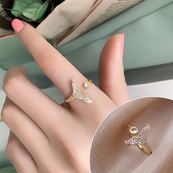 Cola de pescado con diamante # 4840
