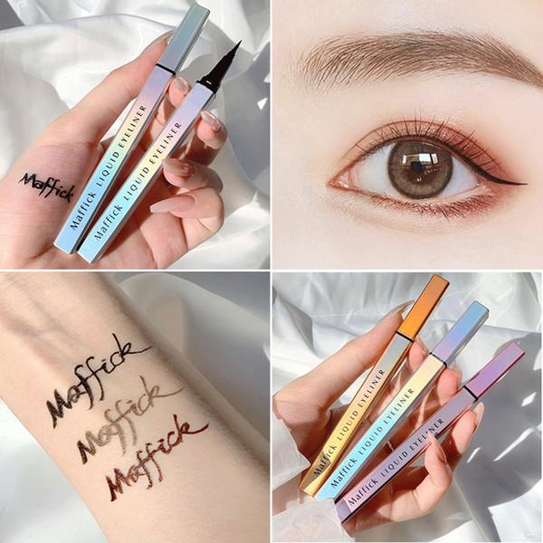top popular Fast dying No halo lasting No fading No discoloration eye liner waterproof Eyeliner makeupLiquid Eyeliner Non-irritancy Eye. 2021