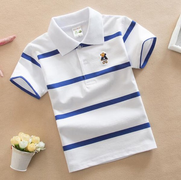 best selling Kids Clothing Tops Polos Designer Boy Clothes Summer Pullover Tees Casual Short Sleeve Girl Designer Tops