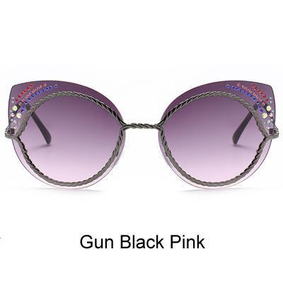 Pistola preta rosa.