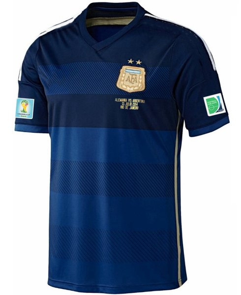 vs Alemania WC 2014 jersey