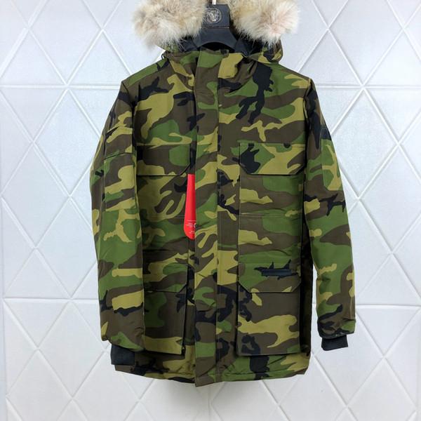 08-expedição Parka camuflagem do exército