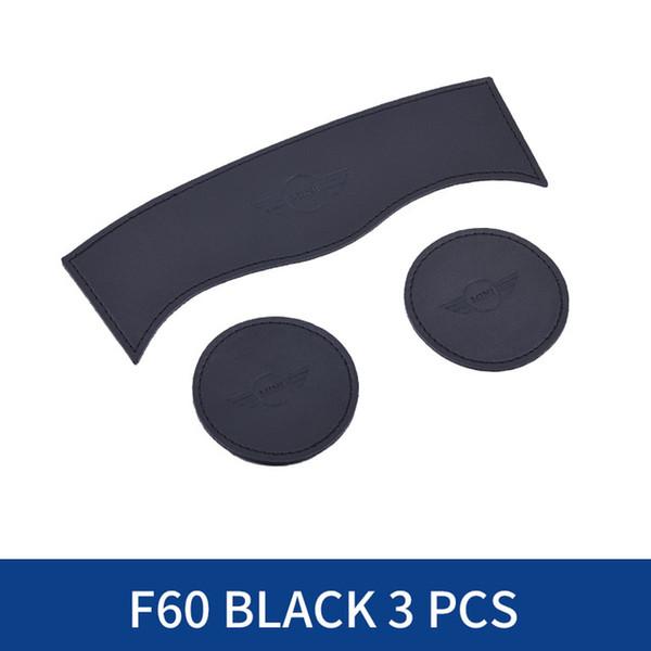F60 أسود 3PCS.