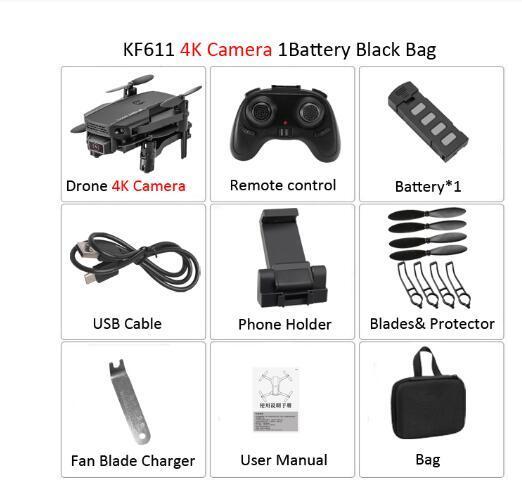 مع حزمة كاميرا 4K الأسود