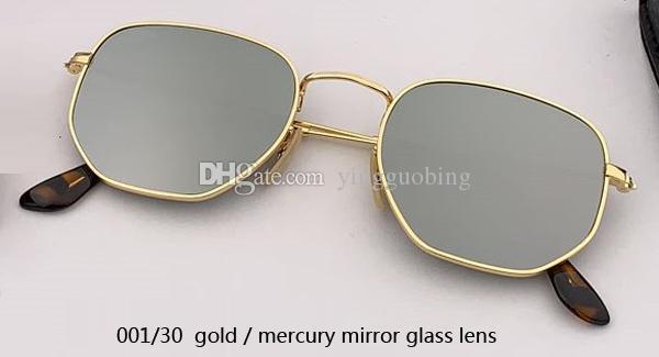 001/30 gold/silver mirror lens