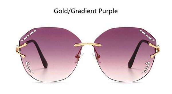 Gold Gradient Purple