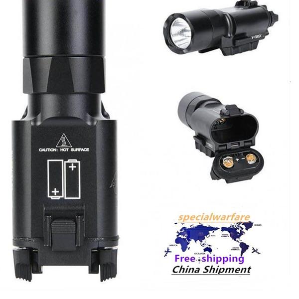 best selling flashlight X300U LED white light illuminator 500 lumens one under-hanging strong light tactical flashlight