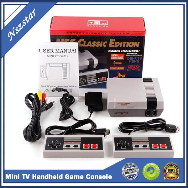 top popular Super Famicom Mini SFC TV Video Handheld Game Console Entertainment System For NES SNES Games English Retail Box 2021