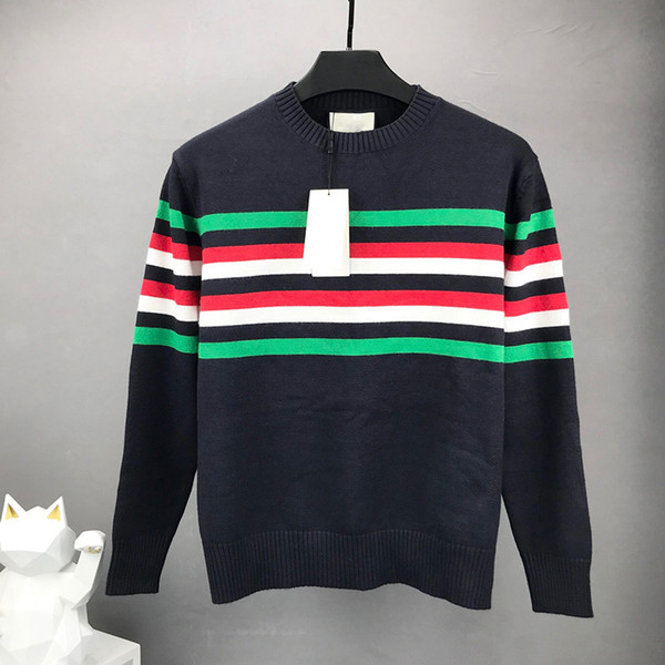 top popular high quality Designer sweaters for Mens women Thick Long Sleeve Top luxury clothing embroidery letter pullover wool Sweater Coat jumper S-L 2020