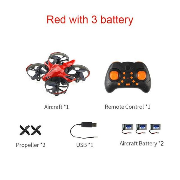 Rot mit 3 Batterie China