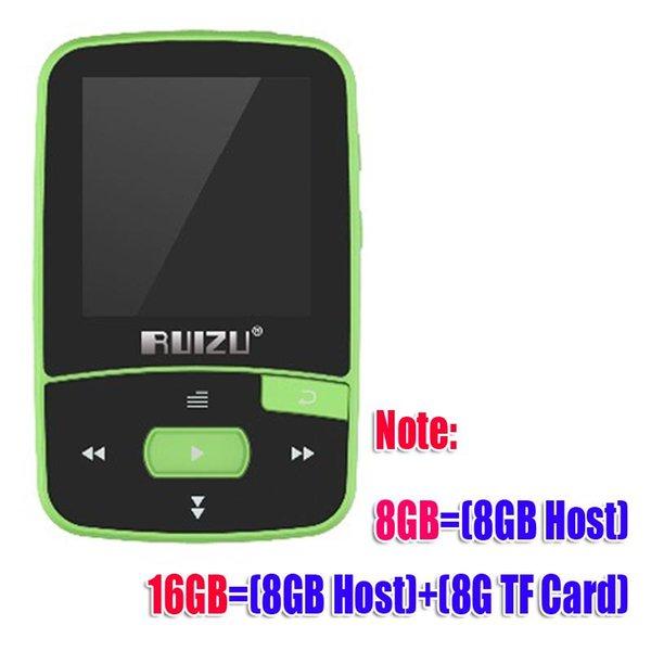 CX-MP3-X50-Green 4GB