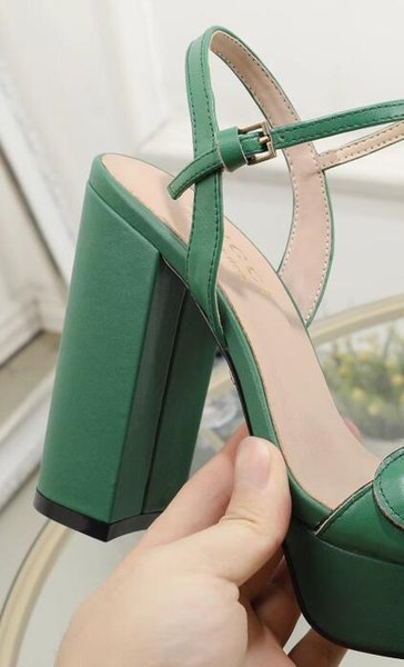 Cuir vert 12cm