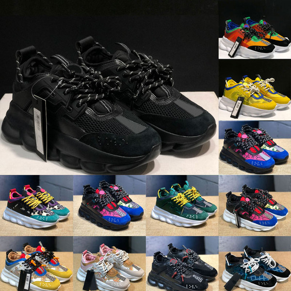 top popular High quality fashion casual Platform Shoes Woman men Genuine Leather Patchwork Breathable sneakers schuhe outdoor walking Trainers 2021