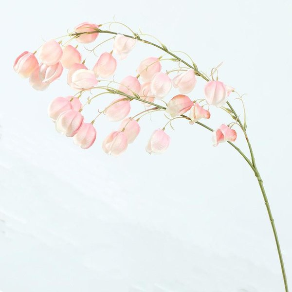 Linterna flor rosa