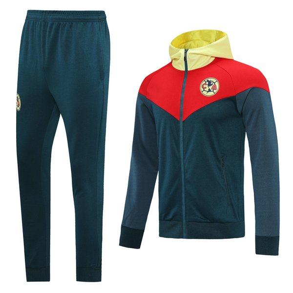 Club America Dark Blue Hoodies Jacket