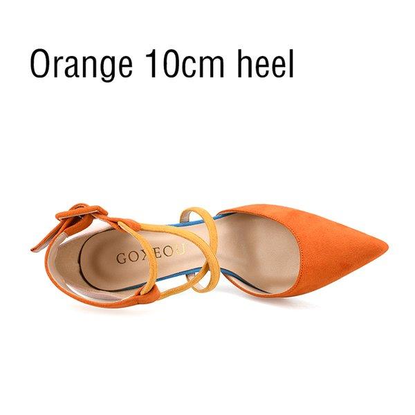 Talon orange 10cm