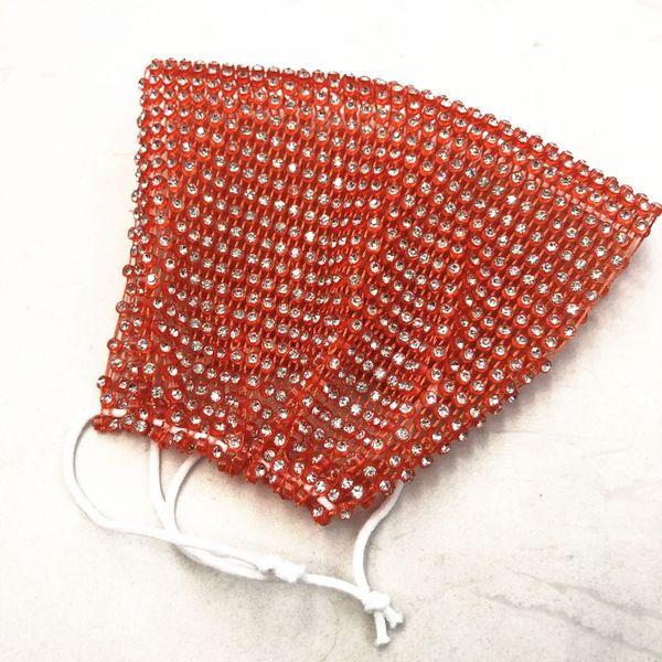 Orange Bottom White Diamond-One # 93825