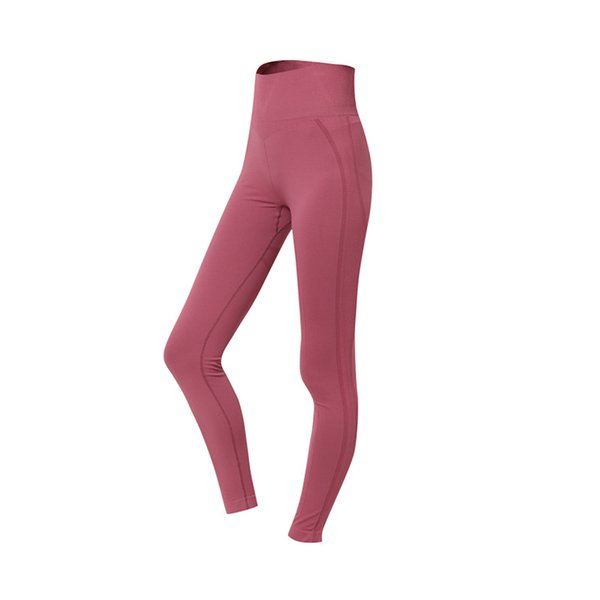 top popular 52% Off! Women's Yoga Pants Spring and Summer Running Fitness Pants Women's High Waist Peach Hip Lift Large Size Tight High Elasticity 2021