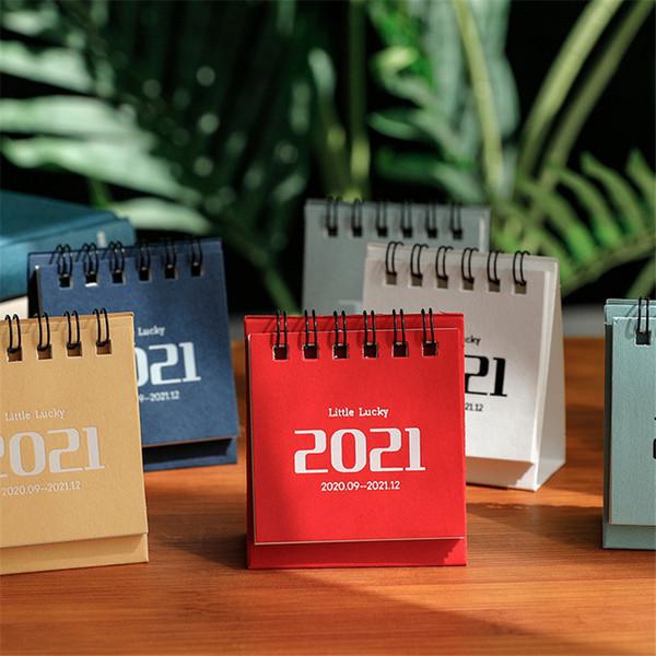 best selling 2021 Creative Mini Desk Calendar Simple Nordic Calendar Desktop Plan This Decoration Small Fresh Desk Calendar Office Decoration