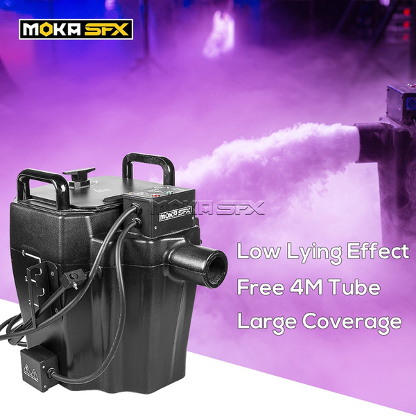 best selling Shipped from Spain Dry Ice Low Lying Fog Smoke Machine 3500w Dry Ice Machine Large Output for Wedding Big Show Ground Fog Machine