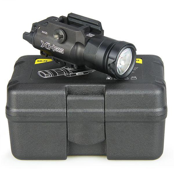 best selling Tactical XH35 Flashlight Dual Output Ultra-High White LED Brightness Strobe Adjustment Light
