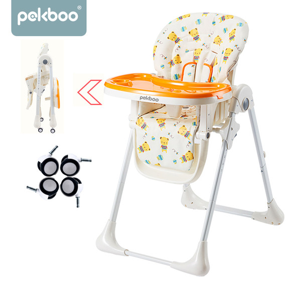 top popular Baby high chair baby feeding chair kids table feeding chair LJ201110 2021